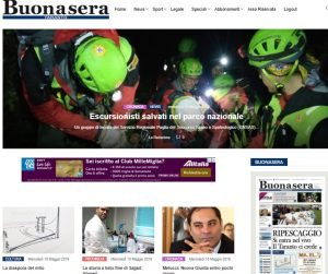 Homepage Tarantobuonasera.it