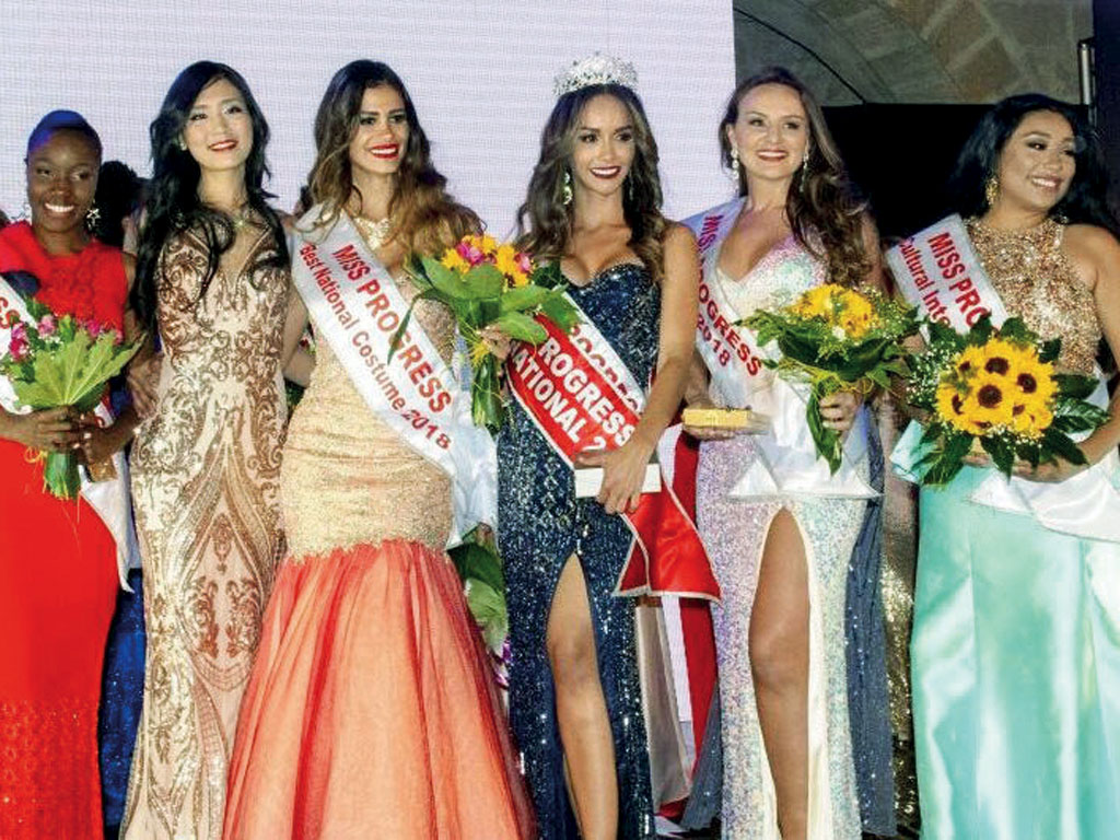 foto di Miss progress international